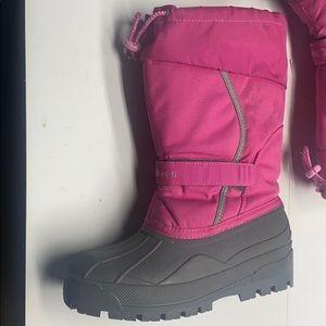 LLBean Pink Boots